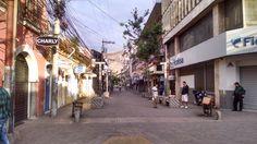 Paseo liquidambar (peatonal) de Tegucigalpa.