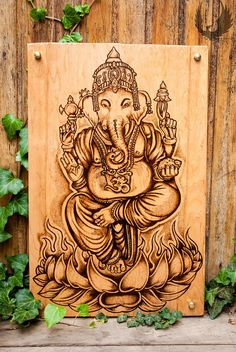 Hey, I found this really awesome Etsy listing at https://www.etsy.com/listing/167040848/ganesha-panel-home-decor-oder