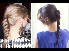 Hi my beautiful friends!  This hairstyle was inspired by Balmain Spring 2013 Runway. The models sported casual braids and ponytail rope braids.     For this hairstyle I have used:  - Hair wax  - Teasing brush  - hair elastic    Enjoy the hairstyle and have an awesome day!    Love you!  xx  Mimi    ♥ Instagram - http://instagram.com/luxyhair  ♥ instagram Mimi -...