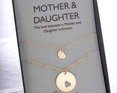 Mutter-Tochter-Armreifen Armbänder. Valentinstag von erinpelicano