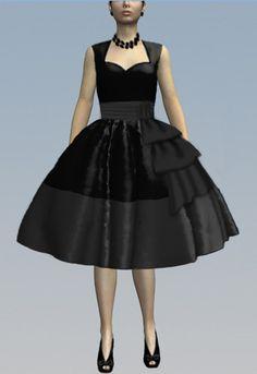 Retro Swag Sash Dress by Amber Middaugh