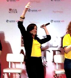 Lana Parrilla dancing - #EverAfter in Rio