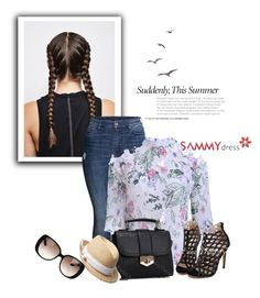 """""""Cool"""" by selmaaaa-1 ❤ liked on Polyvore featuring H&M, Gap, Gucci and sammydress"""