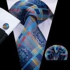 Apparel Accessories Ingenious Dibangu Green Mens Ties For Men Hanky Cufflinks Set Necktie Set For Male Business Wedding Party Mens Ties New Arrival Tie