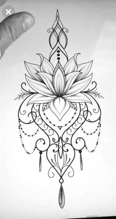 Mandala Tattoo Design, Dotwork Tattoo Mandala, Forearm Tattoo Design, Mandala Drawing, Mandala Art, Lotus Mandala Design, Simple Mandala Tattoo, Lotus Flower Design, Sanskrit Tattoo