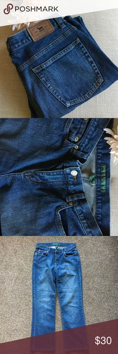 """🆕 Lauren Jeans Co. Bootcut Jeans size 4 Petite These Lauren Jeans Co. Bootcut Jeans size 4 Petite are in excellent condition! Not sure they've actually even been worn before, selling for a friend but offers welcome! A very classic jean, could be dressed up or down! Inseam is 26.5"""" and Rise is 9.5"""". Lauren Ralph Lauren Jeans Boot Cut"""