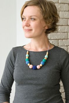 Other – Breastfeeding and Babywearing Necklace Juniperwood – a unique product by FrejaToys on DaWanda