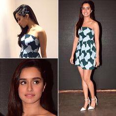 #Shraddha in Paule Ka dress