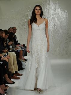 Watters's Fall 2016 Wedding Dress Collection Has Lace on Lace | TheKnot.com