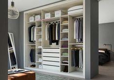Room Design Bedroom, Closet Bedroom, Closet Space, Walk In Closet, Bedroom Decor, Moraira, Fitted Wardrobes, Interior Decorating, Interior Design