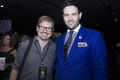 Canadian comic Legend and Sitcom veteran Dave Foley hanging out with LGFG Fashion House at the Emmys gifting suites.