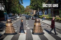 Doctor Who - Abbey Road - Official Poster