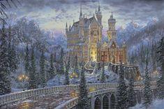Bavarian Beauty, Neuschwanstein Castle by Robert Finale