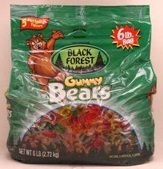 Black Forest-Gummy Bears, 6lb. bag