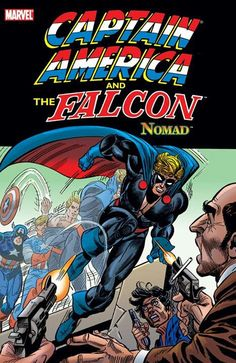 Captain America as Nomad
