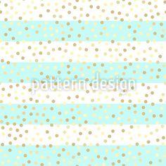 Gold Glitzer Rapportiertes Design by Svitlana Chestnykh at patterndesigns.com