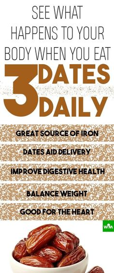 Dates are tasty and almost fully digestible and they can easily suppress food cravings.