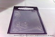 Butterfly Border Embossing Folder