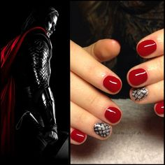 Thor Nails. I'll have to do this before I remove my gel manicure.