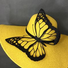 e130e0f98c5 100% Brand New Designed   Made in USA Beautiful hand embellished wide brim  hat adorned