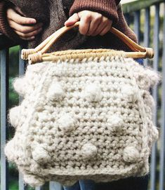 Cute Crocheted Tote Bag Pattern: Rachel Henderson & Sarah Hazell