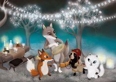Christmas card Joulukortti Jonna Markkula