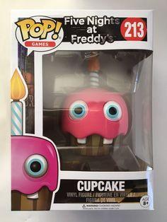 Funko POP! Games Five Nights at Freddy's CUPCAKE 213 Vinyl Figure Brand New Reg   eBay