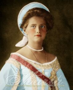 Blue-eyed Russian Princess by ~Livadialilacs on deviantART