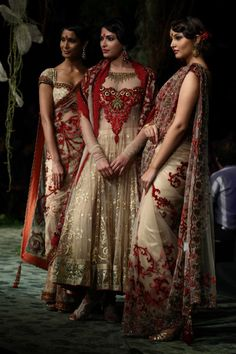 soooooooo pretty...love the saree and the anarkali...by Tarun Tahiliani