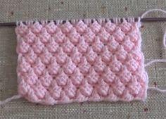 Échantillon de Blackberry à tricoter Örgü Böğürtlen Örneği Échantillon de Blackberry à tricoter Baby Knitting Patterns, Knitting For Kids, Crochet For Kids, Knitting Stitches, Knitting Designs, Knitting Projects, Hand Knitting, Stitch Patterns, Crochet Patterns