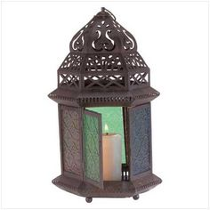 MoroccanStyle Tabletop Lantern * This is an Amazon Affiliate link. You can get more details by clicking on the image.