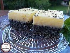 Citromos mákos Hungarian Desserts, Hungarian Recipes, Sweet Desserts, Healthy Desserts, Paleo Dessert, Dessert Recipes, Gm Diet Vegetarian, Yummy Food, Tasty