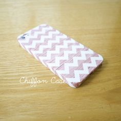Holz-Chevron iPhone 5 Case, iPhone 5 s, Holz iPhone 5 Hülle, einzigartige Apple iPhone5 Case, Cute iPhone 5 Cases - White Chevron