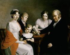 Joseph Hauber - Die Familie Scheichenpflug, 1811, München Städt. Galerie
