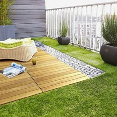 15 όμορφες και κομψές ιδέες για το πάτωμα στο μπαλκόνι σας! | Toftiaxa.gr - Φτιάξτο μόνος σου - Κατασκευές DIY - Do it yourself