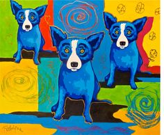 George Rodrigue MM02-13 oil painting for sale, painting