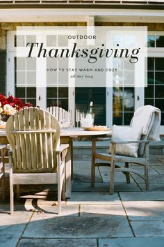 With Thanksgiving Dinner officially moving outdoors, keeping your guests warm and cozy throughout the day is key to a successful holiday! Here's everything you need to know! #outdoorthanksgiving Stay Warm, Warm And Cozy, Outdoor Thanksgiving, Outdoor Furniture, Outdoor Decor, Outdoors, Key, Holidays, Dinner