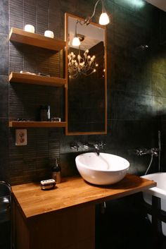 Custom made Bathroom Vanity Apartment redesign by Stefan Lazar in Timisoara Romania
