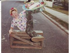 #Skateboarding on Pierson Avenue  Like, repin, share! Thanks :)