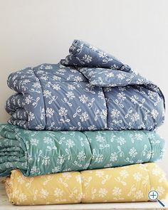Golden Delicious Leaf Comforter / Garnet Hill