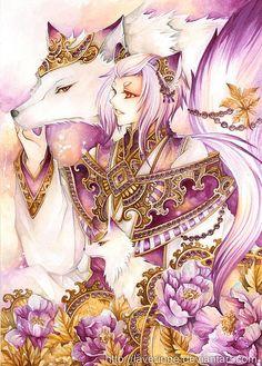 Beautiful Anime Illustrations by Nina Listyani - yokai