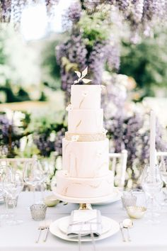 Pastel wedding cake at Hampshire wedding venue Lilac Wedding Colors, Peach Wedding Theme, Pastel Wedding Cakes, Purple Wedding Centerpieces, Romantic Wedding Decor, Elegant Wedding Cakes, Pastel Weddings, Wedding Reception, Wedding Venues