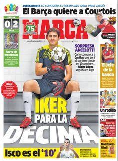 Los Titulares y Portadas de Noticias Destacadas Españolas del 5 de Septiembre de 2013 del Diario Marca ¿Que le pareció esta Portada de este Diario Español?