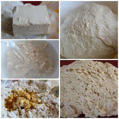 Empanada gallega masa Cuban Recipes, Feta, Cheese, Recipes, Seafood Paella, Spanish Kitchen, Appetizers, Food Cakes, Sweets