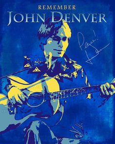 John Denver Poster by Stephen on CreativeAllies.com