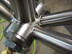 Engin Cycles - BB after all welding | Flickr