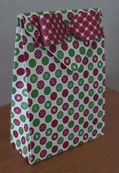 Envelope Punch Board Gift Bag - altered link below so opens up in you tube as not everyone can get onto stampin connection if not a member
