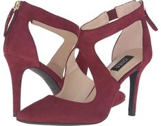 Jones New York Christie #pumps #shoes #wedding #bride #bridesmaids #maroon