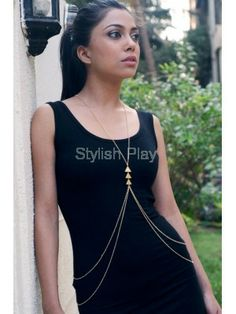 Golden multi-strand body jewel-LIMITED EDITION www.stylishplay.com