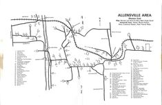 Hedgesville, West Virginia, Berkeley County, West Virginia, Allensville area map. Area Map, West Virginia